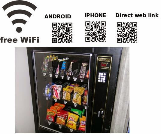 vending machine codes for free food