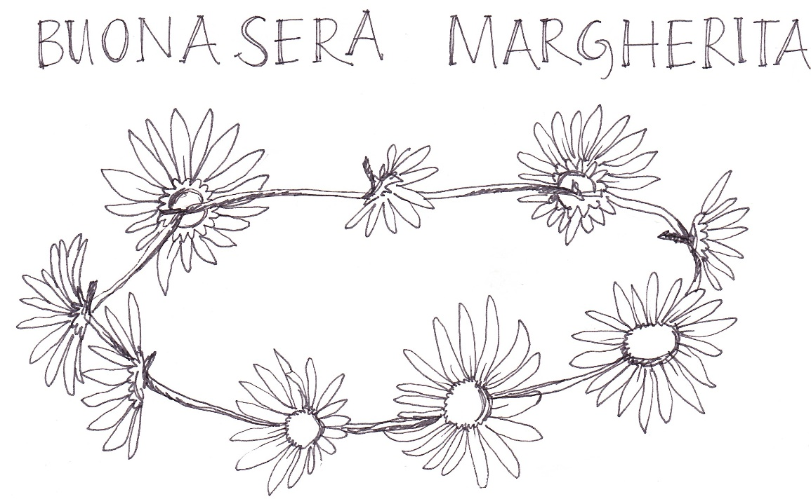 how to make a paper daisy chain