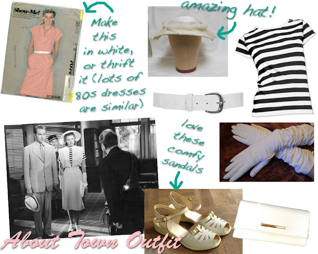 Flashback Summer:  Casablanca Week- Get the Look- Ingrid Bergman