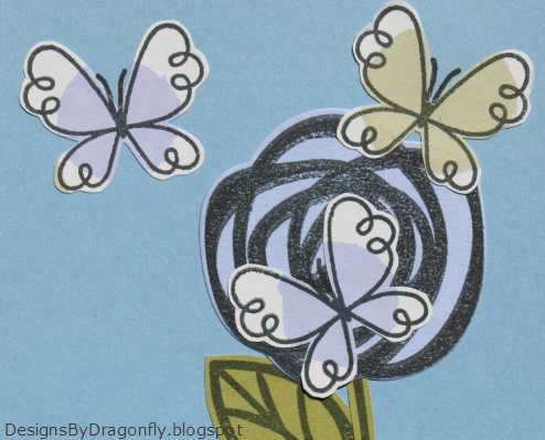 Designs By Dragonfly Thank You Card Bloomin Butterflies 2nd Post
