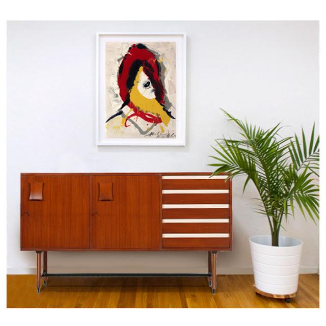 Mobili art deco atelier myartistic quadro dipinto for Designer di mobili francesi art deco