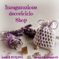 Il nuovo shop di Decoriciclo