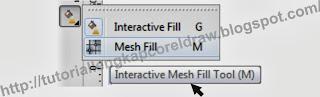 mengenal fungsi mesh fill tool coreldraw, tutoriallengkapcoreldraw.blogspot.com