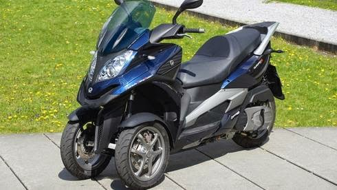 tricycle scooter quadro 350s s goes even faster autos car and motor online blog. Black Bedroom Furniture Sets. Home Design Ideas