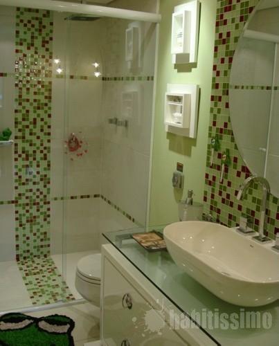 Reciclar, reformar e decorar Banheiros -> Reforma De Banheiro Com Pastilha