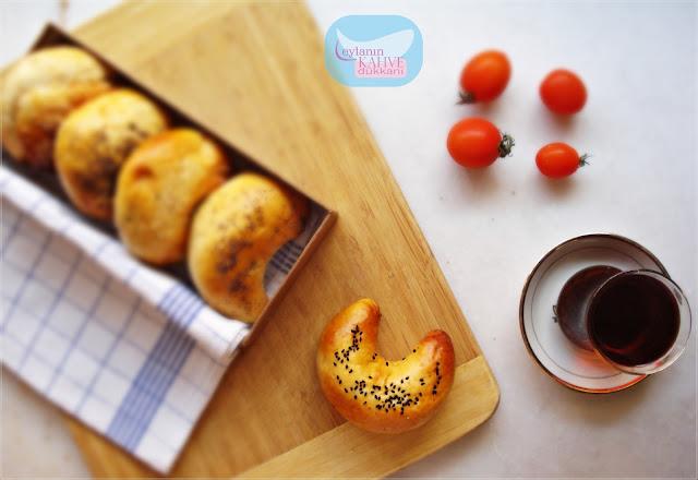 patatesli ay çöreği, patatesli poğaça