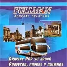Gracias Pullman Gral Belgrano
