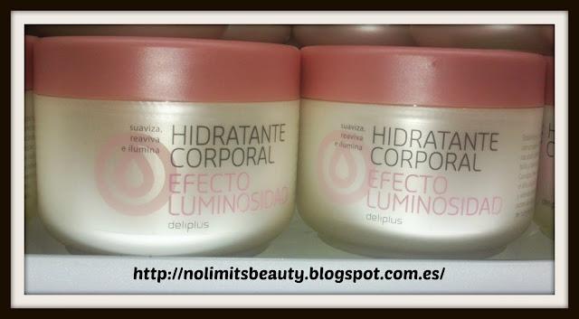 Hidratante Corporal Efecto Luminosidad Deliplús