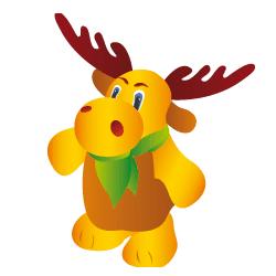 Reindeer to print