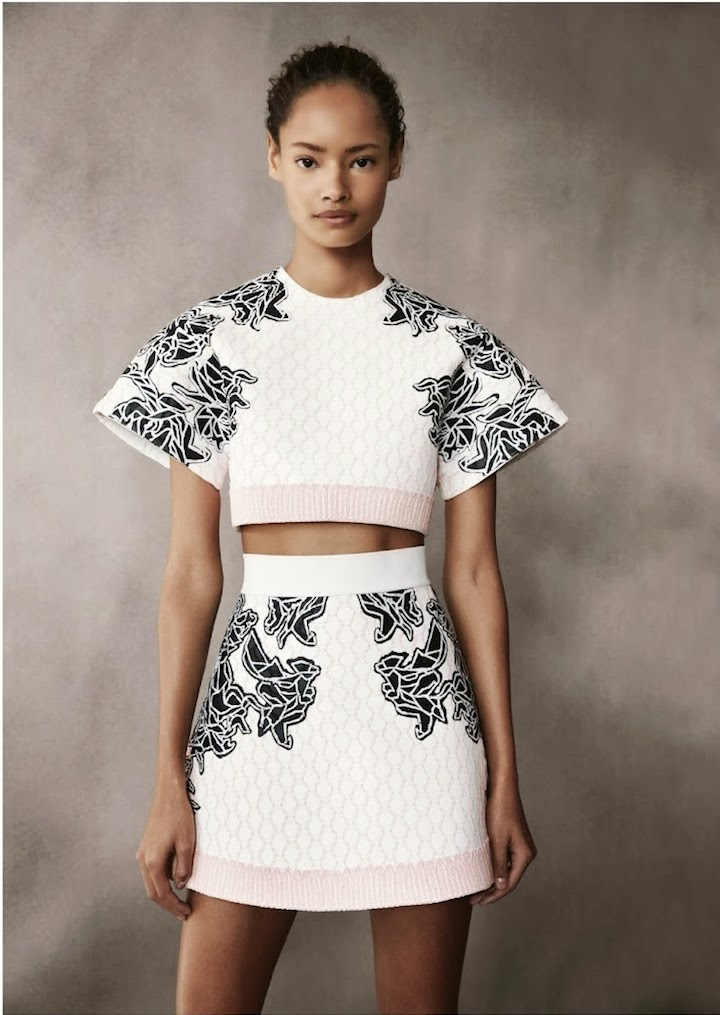 Alexander Wang for Balenciaga Spring 2014 - Uk Vogue February 2014