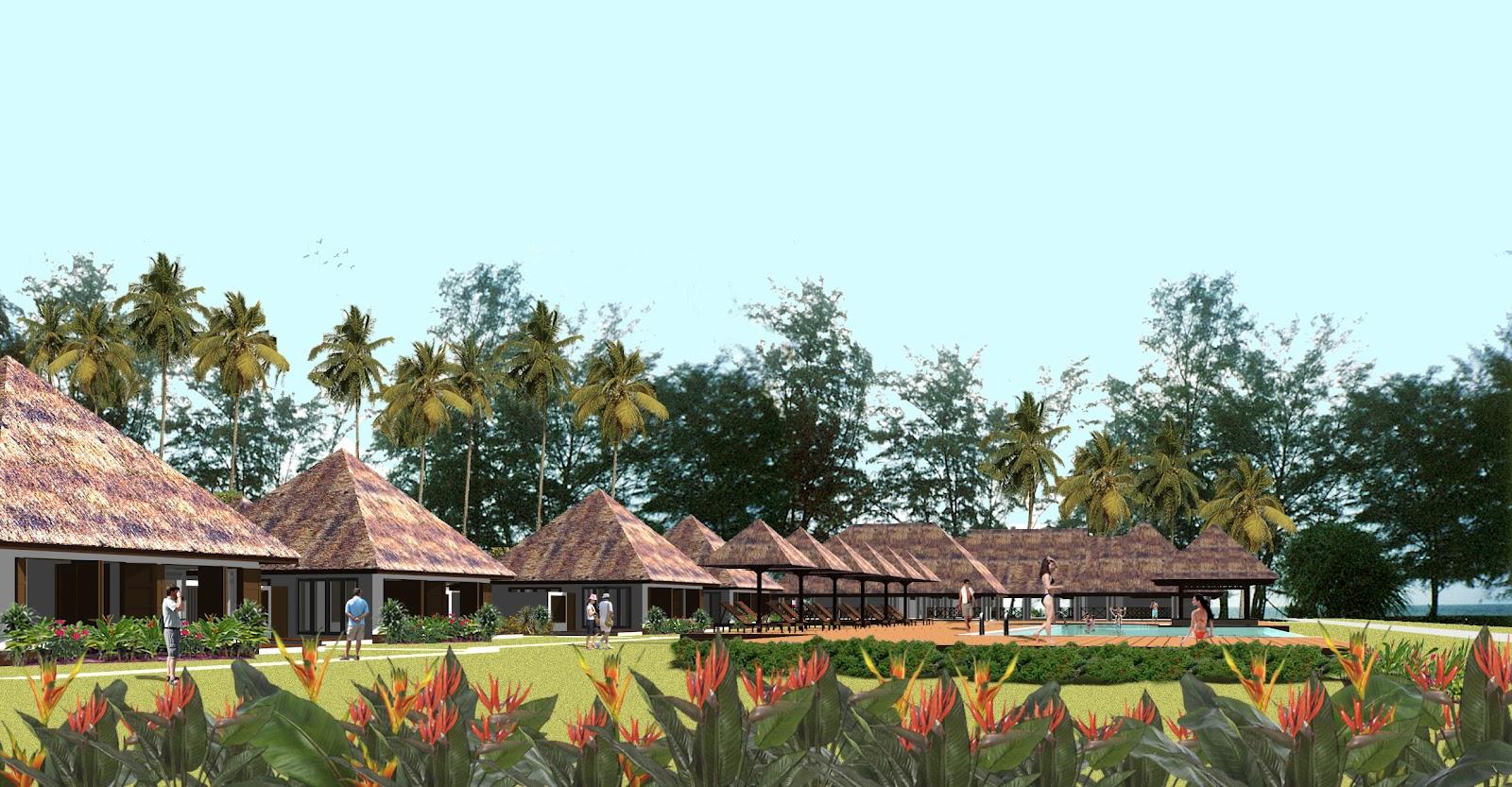 lanjut ecovillages malaysia lanjut beach ecovillage. Black Bedroom Furniture Sets. Home Design Ideas