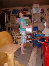 Girl Standing Barefoot