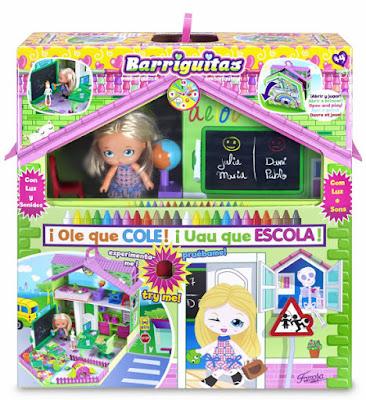 TOYS : JUGUETES - BARRIGUITAS - Colegio Olé que cole Producto Oficial 2015 | Famosa 700012398 | A partir de 4 años Comprar en Amazon España