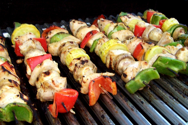National Foods Recipes: Chili-Lime Chicken Kabobs