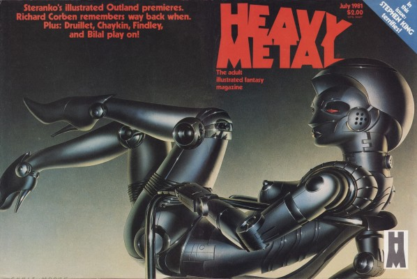 Daily Lazy Heavy Metal Magazine Covers From The 1980s