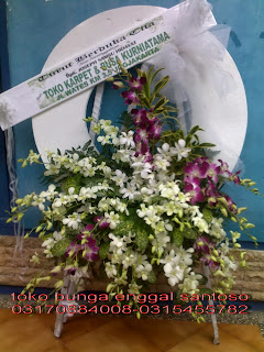 bunga duka cita ( anggrek ), karangan bunga anggrek florist surabaya murah dan online