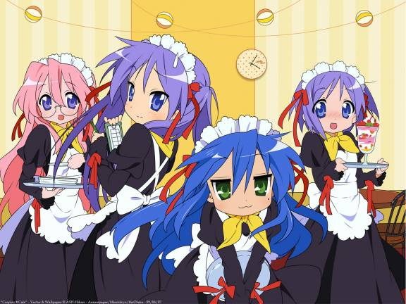 lucky star wallpapers. THIS IS LUCKY STAR!