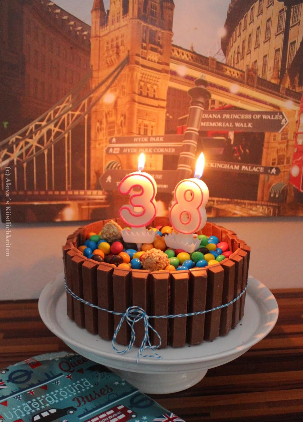 Alexa S Kostlichkeiten Eine Kitkat Schokotorte Zum Geburtstag