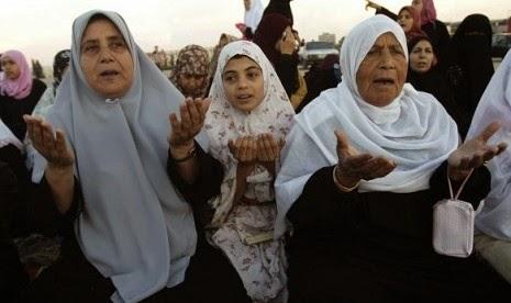 Palestina Perang dengan Israel, Doa untuk palestina