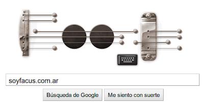 doodle google les paul