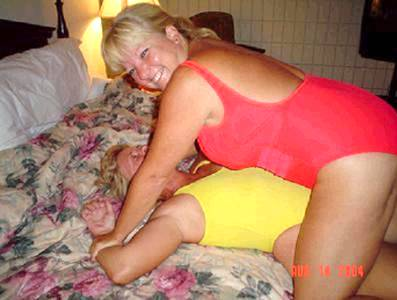 living room wrestling mature women