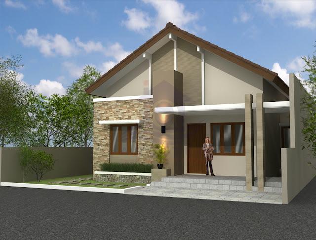 Desain Eksterior Rumah Ibu Heni di Boyolali