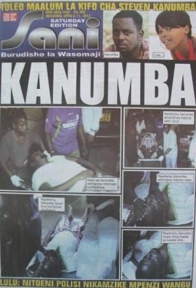 Steven Kanumbas death shakes Tanzania (Photos)