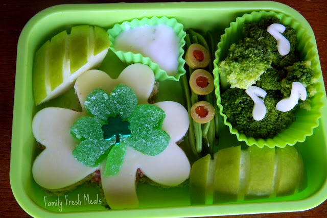 St. Patrick's Day Lunch idea