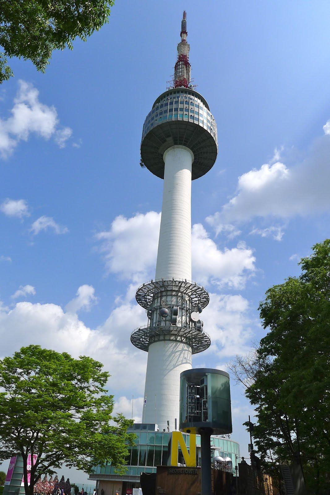 Burgerography Namsan Seoul Tower