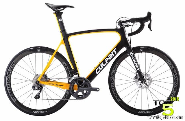 CULPRIT CROZ BLADE, una bici aerodinámicamente cómoda