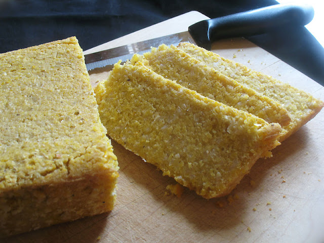 cornmeal rice bread