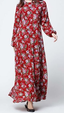 NBH0448 HURAIYAH MAXI DRESS