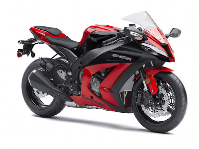 2012 Kawasaki Ninja ZX 10R ABS Red Color