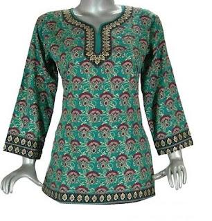 Latest Pakistani Ladies Kurta Designs 2013