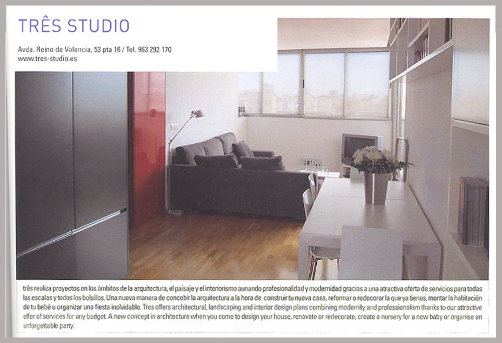 Reforma tico en valencia tr s studio blog de - Proyectos decoracion online ...