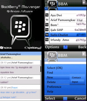 Download aplikasi blackberry messenger untuk e63