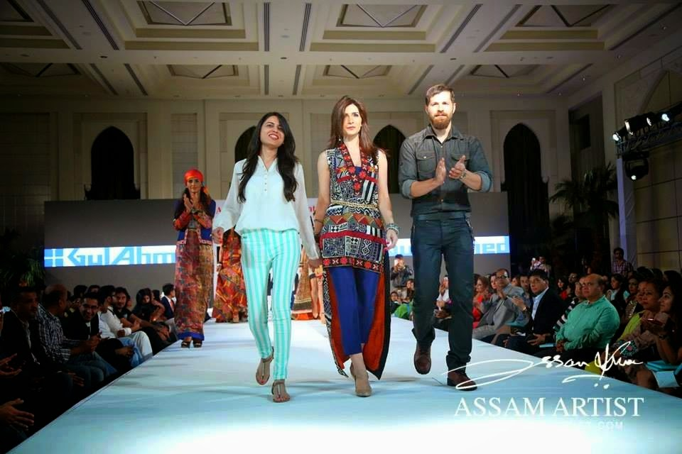 Gul Ahmed Designers With Fashion Models