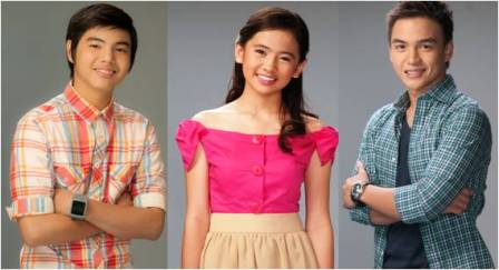 Paul Salas, Ella Cruz and Dom Roque of Aryana