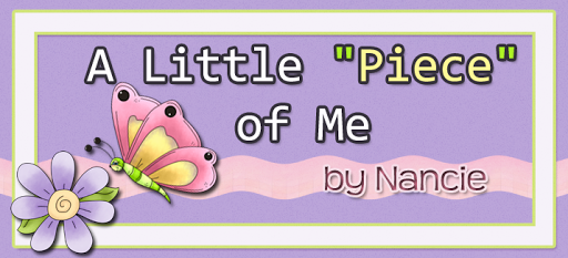 A little piece of me by Nancie