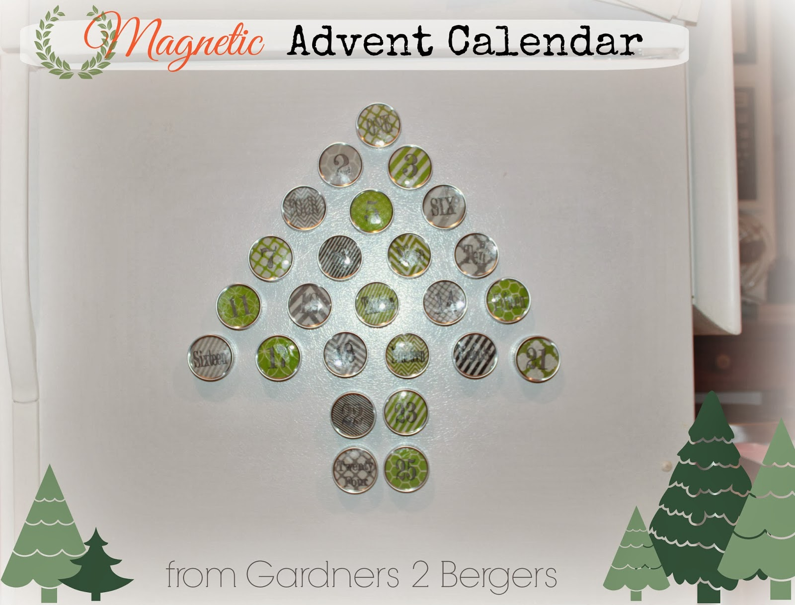 from gardners 2 bergers magnetic advent calendar printable