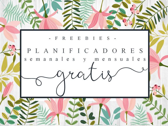 Creative mindly organizadores semanales y mensuales por for Paginas para hacer planos