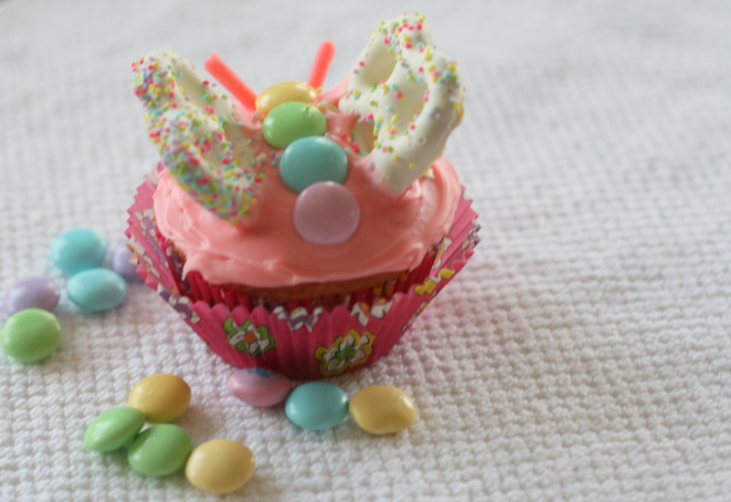 Butterfly Cupcake Images : Family of Four: {Butterfly Cupcakes}