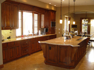 Wood Cabinets for Kitchen