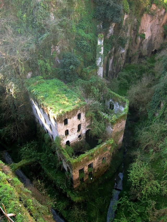 01. Abandoned mill from 1866 in Sorrento, Italy