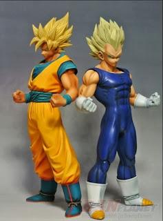 Master Stars Piece Vegeta Goku