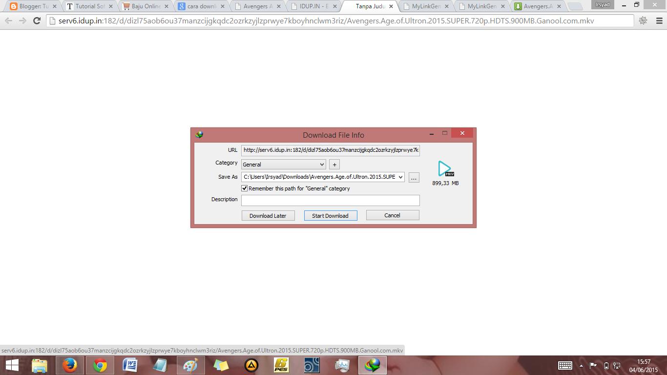idm silahkan download juga file nya di download idm crack aktif ...