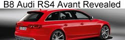 Audi RS4 Avant (B8) officially revealed