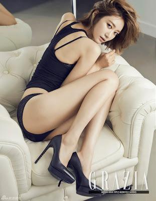 Go Joon Hee – Grazia Magazine September Issue 2013 Sexy