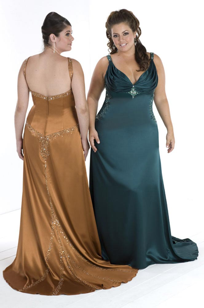 Plus Size Evening Dresses Women