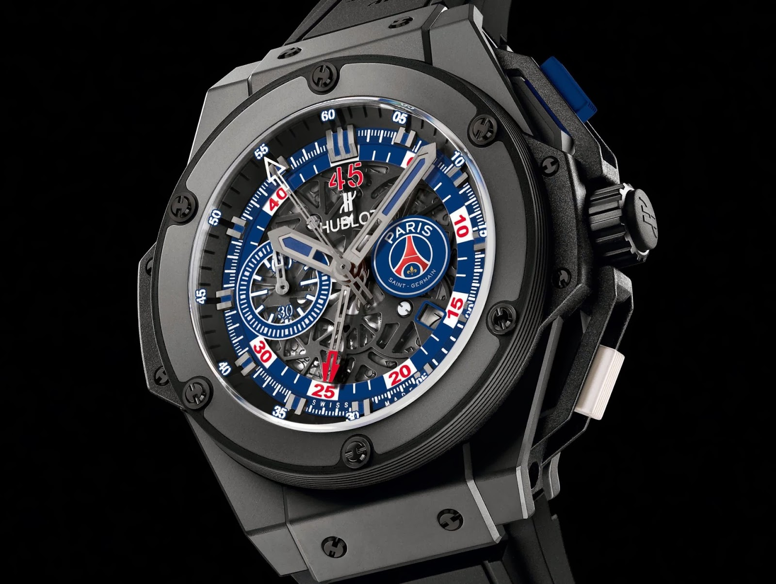 Hublot King Power Paris Saint-Germain watch replica